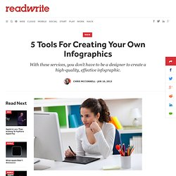 5 Tools For Creating Your Own Infographics - ReadWrite