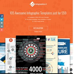 Download Bundle of 105 Infographics Design Templates online