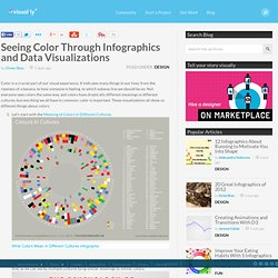 Seeing Color Through Infographics and Data Visualizations