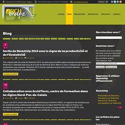 Blog sur SketchUp, l'infographie 3D d'architecture et les métiers de l'image -ARCH'image
