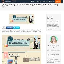 Infographie_Top 7 des atouts de la vidéo marketing
