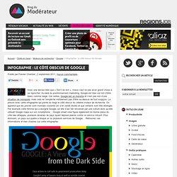 Infographie : le côté obscur de Google