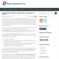 [Infographie] Chiffres clés 2013 de l'e-tourisme en France