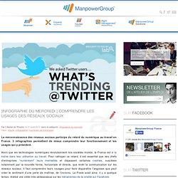 Comprendre les usages des réseaux sociaux – Infographies du mercredi