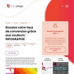 > INFOGRAPHIE > Boostez votre taux de conversion grâce aux couleurs