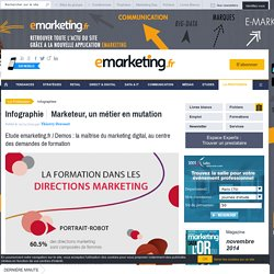 Etude emarketing.fr / Demos : la maîtrise du marketing digital, au centre des demandes de formation