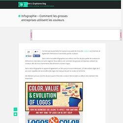 Infographie - Comment les grosses entreprises utilisent les couleurs