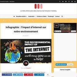 Infographie : l'impact d'internet sur notre environnement