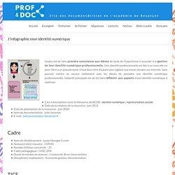 J'infographie mon identité numérique – Prof & Doc