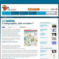 L'infographie, info ou intox ?