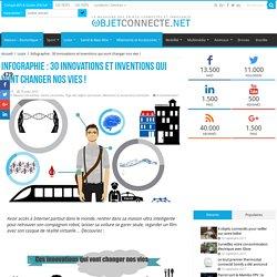 Infographie : 30 innovations qui vont changer nos vies !
