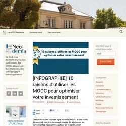 [INFOGRAPHIE] 10 raisons d'utiliser les MOOC pour optimiser votre investissement - Blog Neodemia