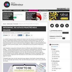 Infographie : des astuces pour être mieux organisé