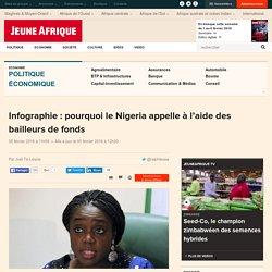 Infographie : pourquoi le Nigeria appelle à l'aide des bailleurs de fonds