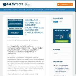 Infographie – Réforme de la formation professionnelle