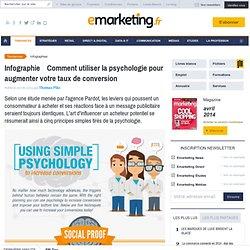 Infographie : Comment utiliser la psychologie pour augmenter votre taux de conversion