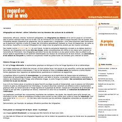 Infographie sur internet : attirer l?attention vers les donn?es des acteurs de la solidarit?