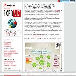 La dataviz de la dataviz : une infographie originale conçue spécialement pour Expoviz