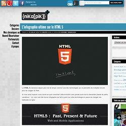 L'infographie ultime sur le HTML 5