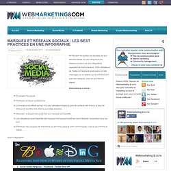 Marques et réseaux sociaux : les best practices
