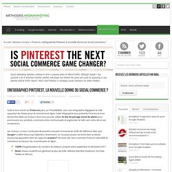 [Infographie] Pinterest, la nouvelle donne du Social Commerce ? | Méthodes Webmarketing
