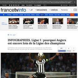 INFOGRAPHIES. Ligue 1 : pourquoi Angers est encore loin de la Ligue des champions