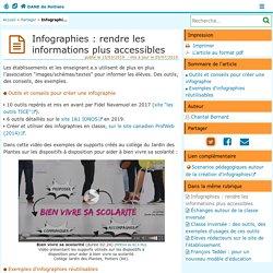 Infographies : rendre les informations plus accessibles - DANE de Poitiers