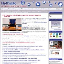 18 infographies méthodologiques et pratiques pour apprendre avec le numérique