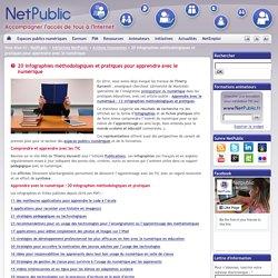 20 infographies méthodologiques et pratiques pour apprendre avec le numérique