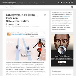 3 exemples d'infographies interactives : New York Times, Google Chrome, Reborn