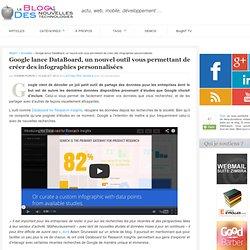 Google lance DataBoard, un nouvel outil vous permettant de créer des infographies personnalisées