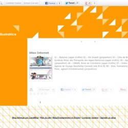 ► Sites Internet - ORANGE VIF graphiste / infographiste / illustratrice