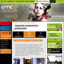 Formation Infographiste - Webdesigner - EMC