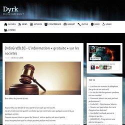[InfoGreffe.fr] – L'information «gratuite» sur les sociétés