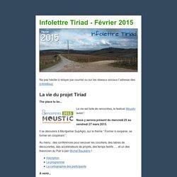 Infolettre Tiriad - Février 2015