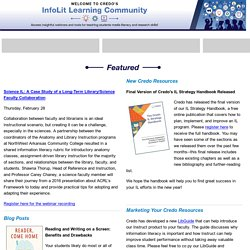 Credo InfoLit Learning Community