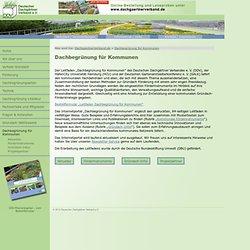DDV – Infoportal Gründach – Dachbegrünung für Kommunen
