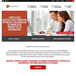Our Platform for Infopreneurs - ClickBank International