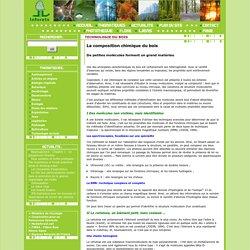 Inforets - La composition chimique du bois