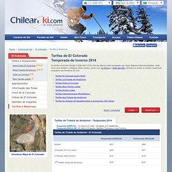 Informação de El Colorado Chile : Tarifas e Reservas