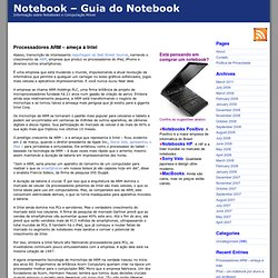 Notebooks Blog - Novidades sobre notebooks, laptops e palmtops