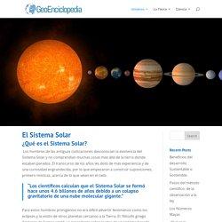 El Sistema Solar - Información y Características - Geografía