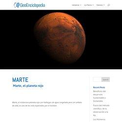 Marte - Información y Características - Geografía
