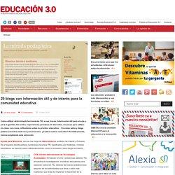 Blogs con información útil y de interés para la comunidad educativa