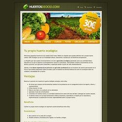 Información y condiciones para alquilar tu huerto de ocio - Huertos de ocio en Gavá (Barcelona)