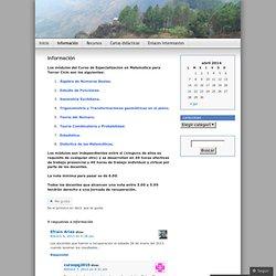 Información « Cursopg2010's Blog
