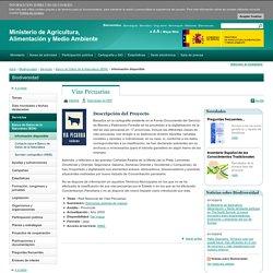 Vias Pecuarias - Información disponible - Banco de Datos de la Naturaleza (BDN) - Servicios