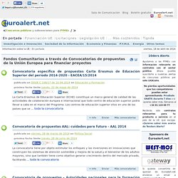 Euroalert.net - Information about the European Union, EU funding, public contracts, EU Legislation, Events and News