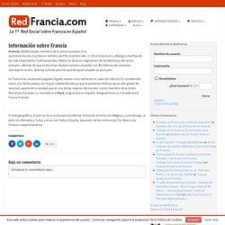 Información sobre Francia - RedFrancia.com