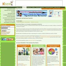 Información de Nutrición para los Padres – Consejos de Nutrición – Herramientas para la Crianza Saludable de los hijos